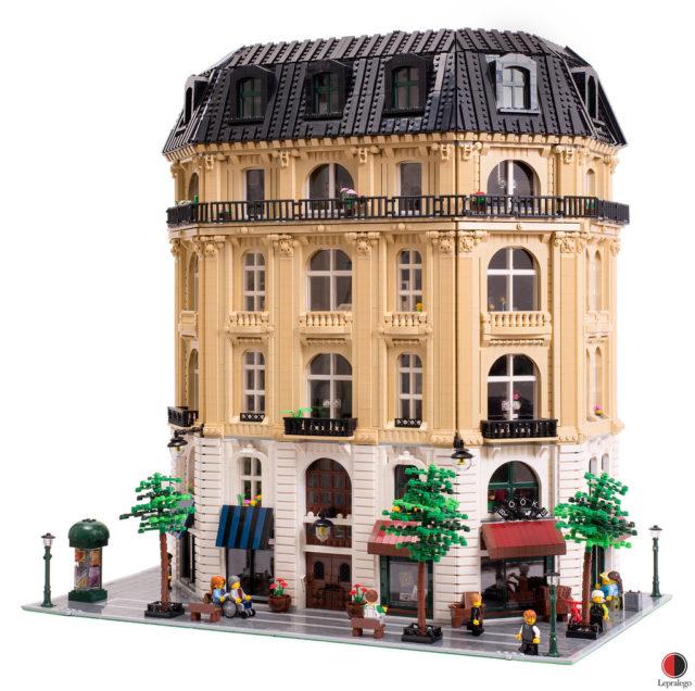 LEGO immeuble haussmannien Boulevard des Lumières