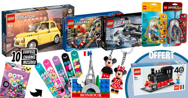 LEGO shop mars 2020