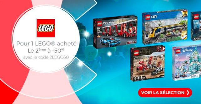 Promo LEGO cdiscount 2020