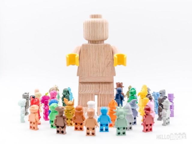 REVIEW LEGO Originals 853967 Wooden Minifigure