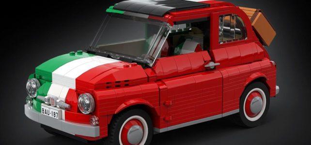 LEGO 10271 Fiat 500 Italy