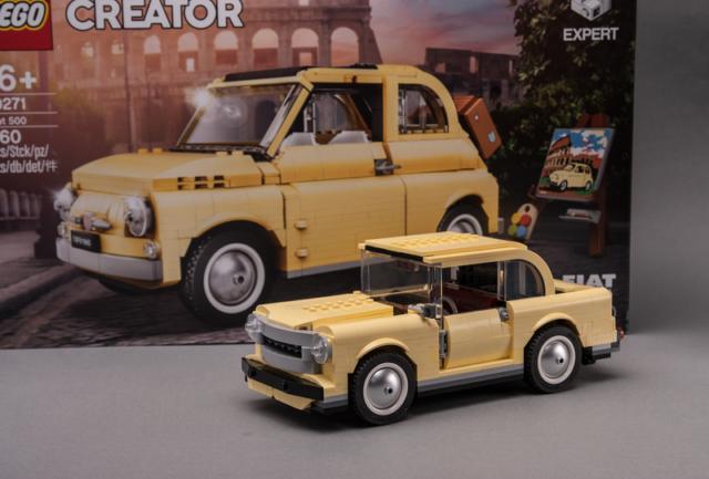LEGO 10271 Fiat 500 Model B