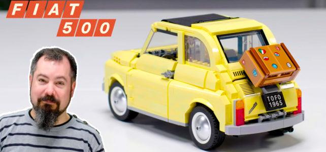 LEGO Creator Expert 10271 Fiat 500 : la vidéo de présentation par son designer