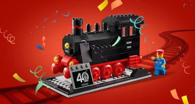 LEGO 40370 40 Years of LEGO Trains