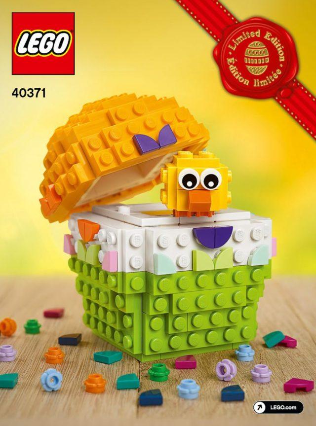 LEGO 40371 Easter Egg