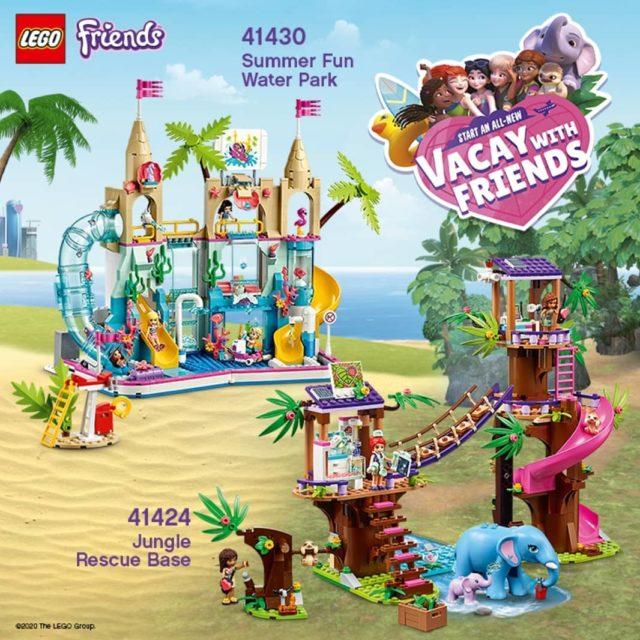 LEGO Friends 2020 paresseux éléphants