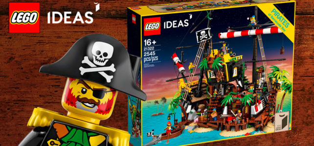 Sur le Shop LEGO : le set LEGO Ideas 21322 Pirates of Barracuda Bay est disponible