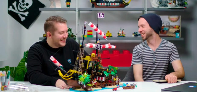 LEGO Ideas 21322 video designers