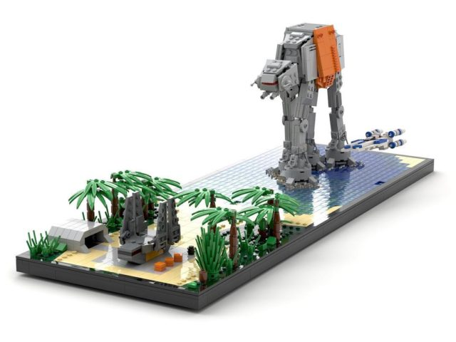 LEGO Star Wars Rogue One microscale