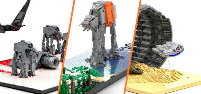 LEGO Star Wars microscale