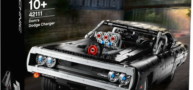 LEGO Technic 42111 Dom's Dodge Charger Fast & Furious