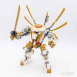 REVIEW LEGO 71702 Golden Mech