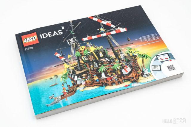 REVIEW LEGO Ideas 21322 Pirates of Barracuda Bay