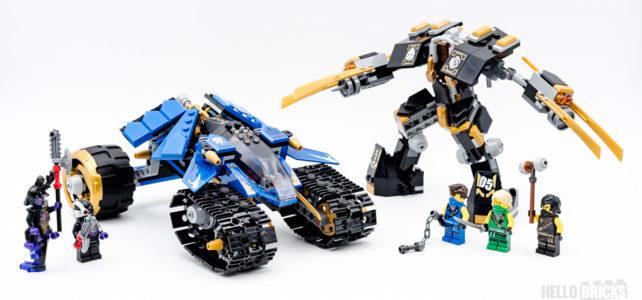 REVIEW LEGO Ninjago 71699 Thunder Raider