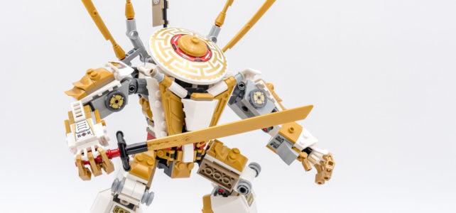 REVIEW LEGO Ninjago 71702 Golden Mech