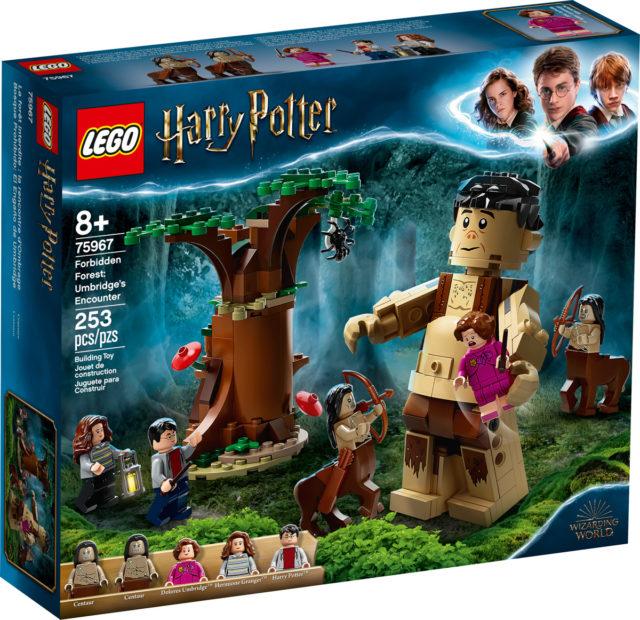 LEGO 75967 Forbidden Forest Umbridge's Encounter