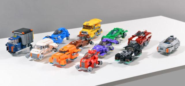 LEGO Flying cars