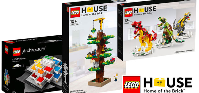 LEGO House exclusive sets Shop LEGO
