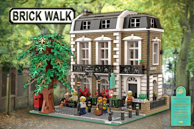 LEGO Modular Brick Walk