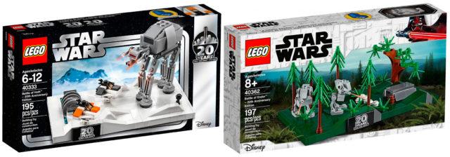 LEGO Star Wars 40333 40362 dioramas