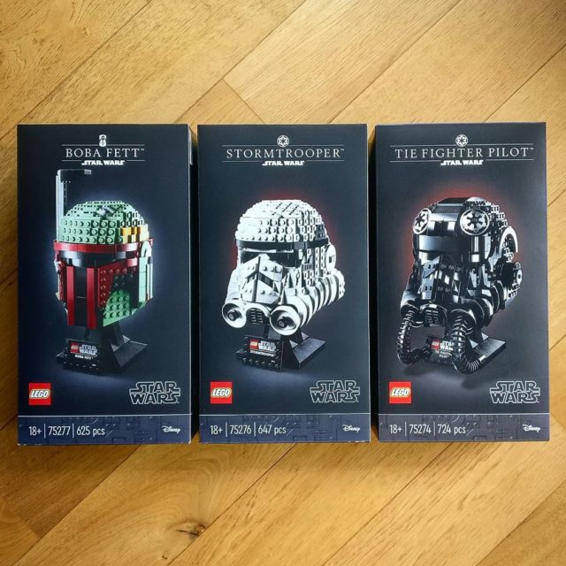 LEGO Star Wars Helmets 2020