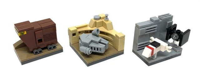 LEGO Star Wars microscale Episode IV