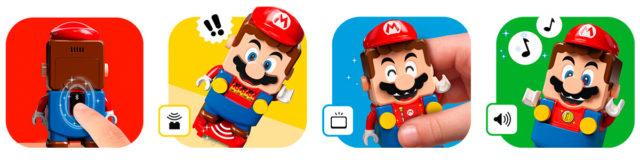 LEGO Super Mario figure