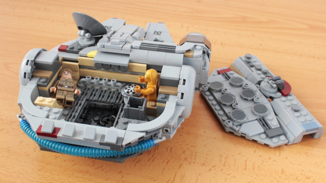 LEGO chibi Millennium Falcon