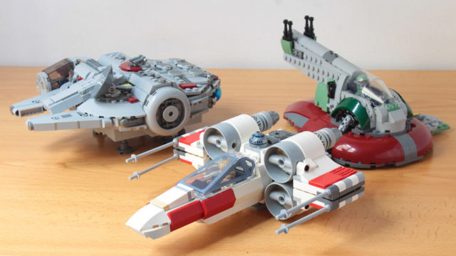 LEGO chibi X-Wing & Millennium Falcon