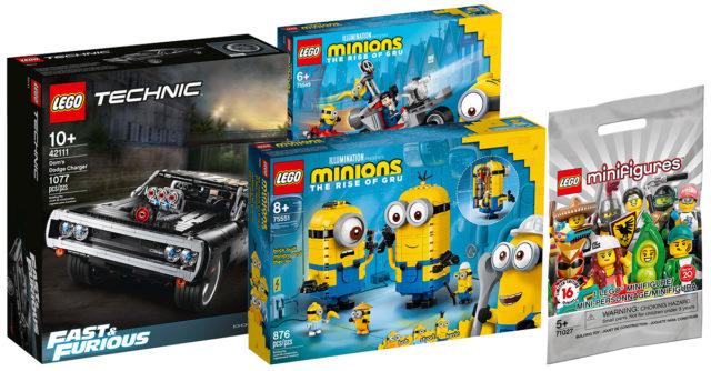 Nouveautés LEGO Fast and Furious Minions