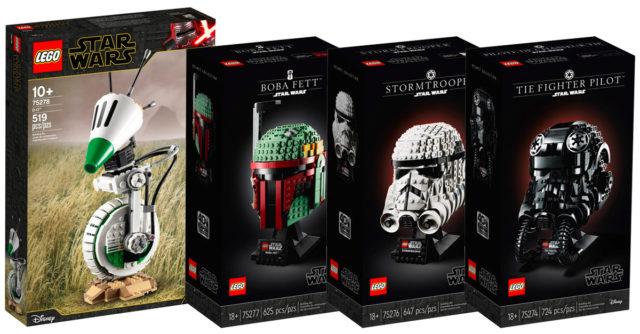 Nouveautés LEGO Star Wars avril 2020