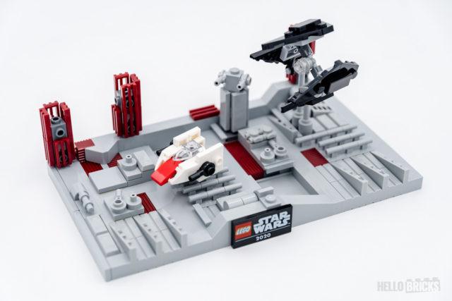 REVIEW LEGO 40407 Death Star II Battle