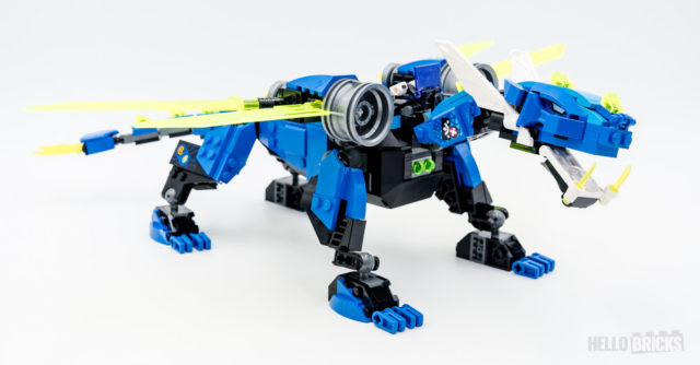 REVIEW LEGO 71711 Jay's Cyber Dragon