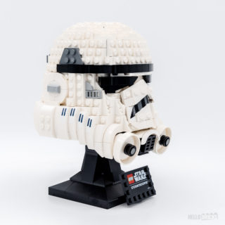 REVIEW LEGO 75276 Stormtrooper Helmet