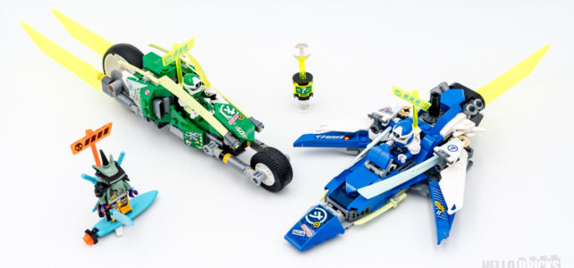 REVIEW LEGO Ninjago 71709 Velocity Racers