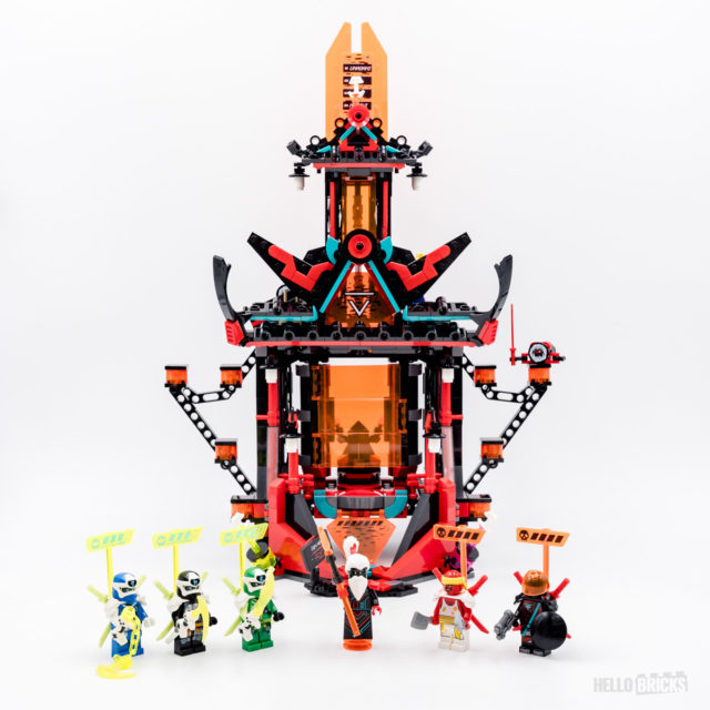 REVIEW LEGO Ninjago 71712 Empire Temple of Madness