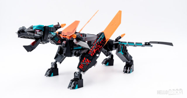 REVIEW LEGO Ninjago 71713 Empire Dragon