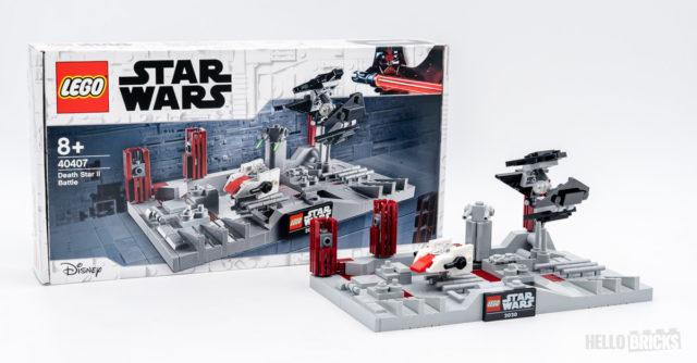REVIEW LEGO Star Wars 40407 Death Star II Battle