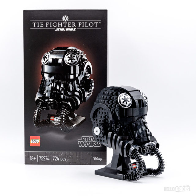 REVIEW LEGO Star Wars 75274 TIE Fighter Pilot Helmet