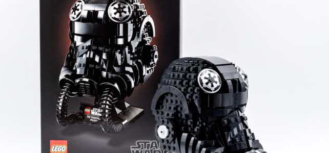 REVIEW LEGO Star Wars 75274 TIE Fighter Pilot Helmet