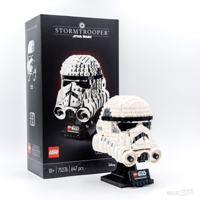 REVIEW LEGO Star Wars 75276 Stormtrooper Helmet