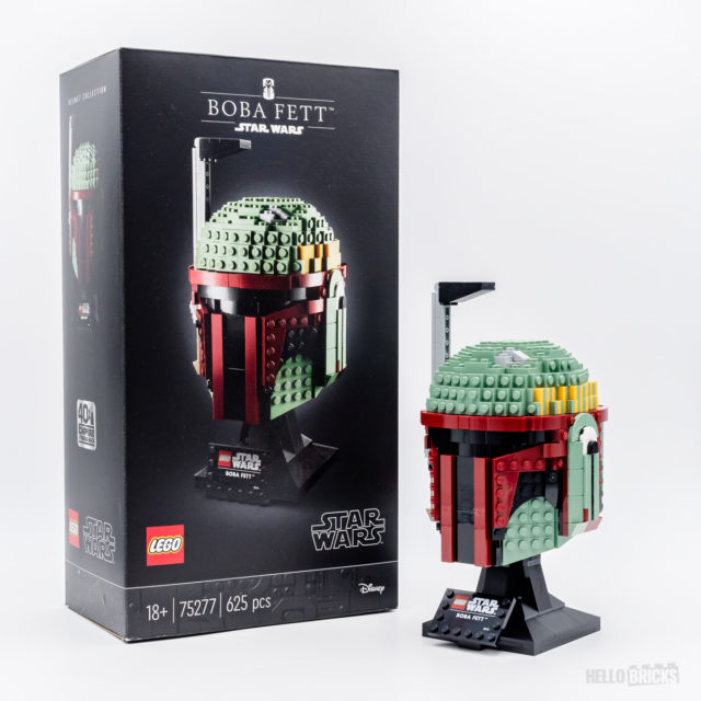 REVIEW LEGO Star Wars 75277 Boba Fett Helmet