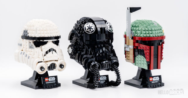 REVIEW LEGO Star Wars Helmets