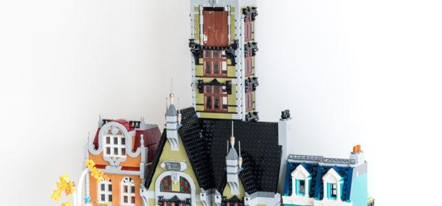LEGO 10273 Haunted House vs Modular