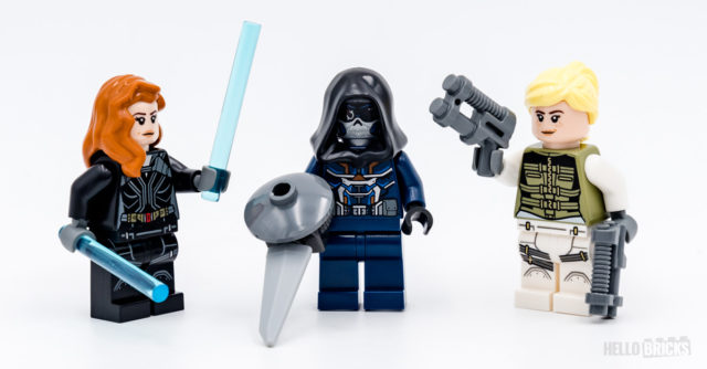 LEGO 76162 Black Widow minifigs