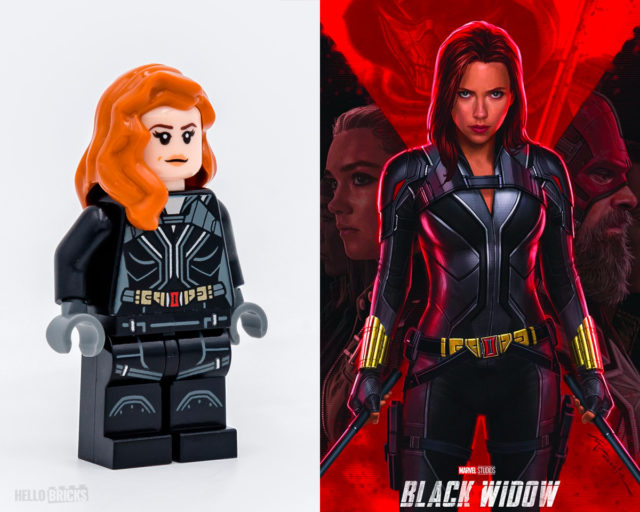 LEGO Black Widow 76162