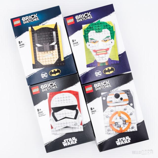 LEGO Brick Sketches box