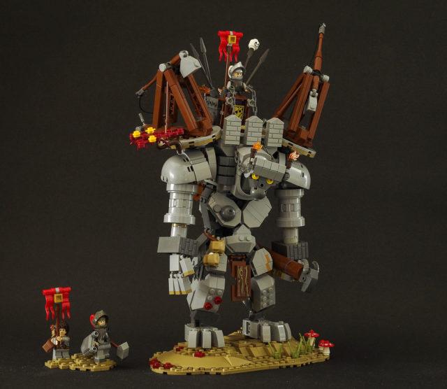 LEGO Castle Giant Stone Golem