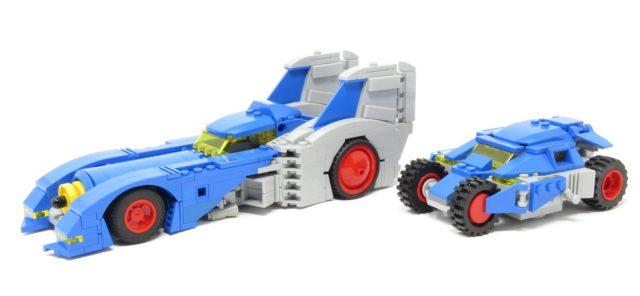 LEGO Classic Space Batmobiles