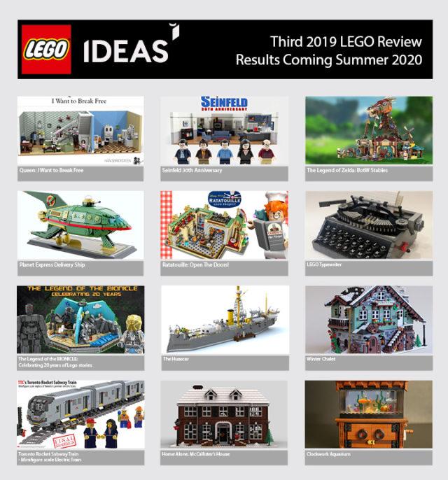 LEGO Ideas Q3 2019
